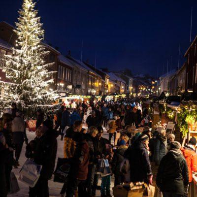 Kveldsstemning Julemarked. Foto: Øyeblikket Foto