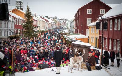 Åpninga av Julemarked Røros
